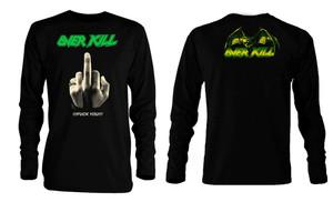 Overkill - Fuck You!!! Long Sleeve T-Shirt