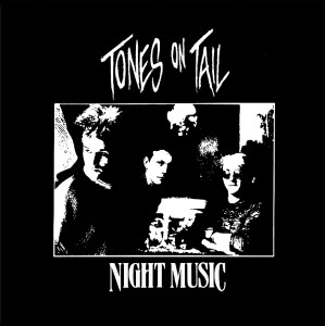 "Tones of Tail - Night Music 4x4"" Printed Sticker"