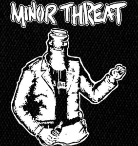 "Minor Threat - Bottlehead 5x6"" Printed Patch"
