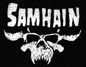 "Samhain - Logo 7x4"" Printed Patch"