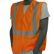 FLAME RETARDANT VEST ORANGE - CLASS II