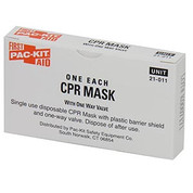 CPR MASK W/ ONE WAY VALVE