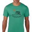 Chief Mountain Ninaistako men's t shirt heather green