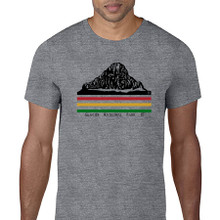 Mt Reynolds GNP men's T shirt heather graphite