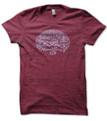 Montana Woodcut mens T shirt