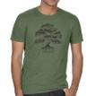 Banyan Tree mens T shirt model