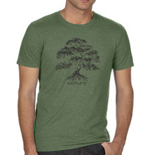 Banyan Tree mens T shirt model