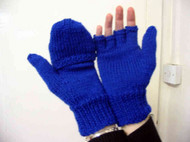 Flap-over Mittens for cold fingers