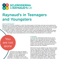 Raynaud's in Teenagers and Youngsters