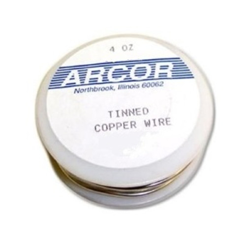 Pre-tinned copper wire is perfect for fashioning hooks and hangers, as well as embellishments like cat whiskers, angel halos and more. Available in 3 popular gauges: 16, 18 & 20. Remember: the higher the number the thinner the wire. Sold in 4 ounce spools.