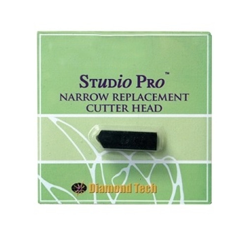 Replacement head fits all oil-fed Studio Pro Glass Cutters and the Studio Pro Circle/Strip Maker.