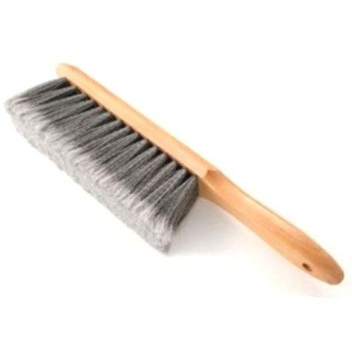 Long bristles in a natural wood handle wipes even the smallest of glass chips off your work surface and out of harm's way!