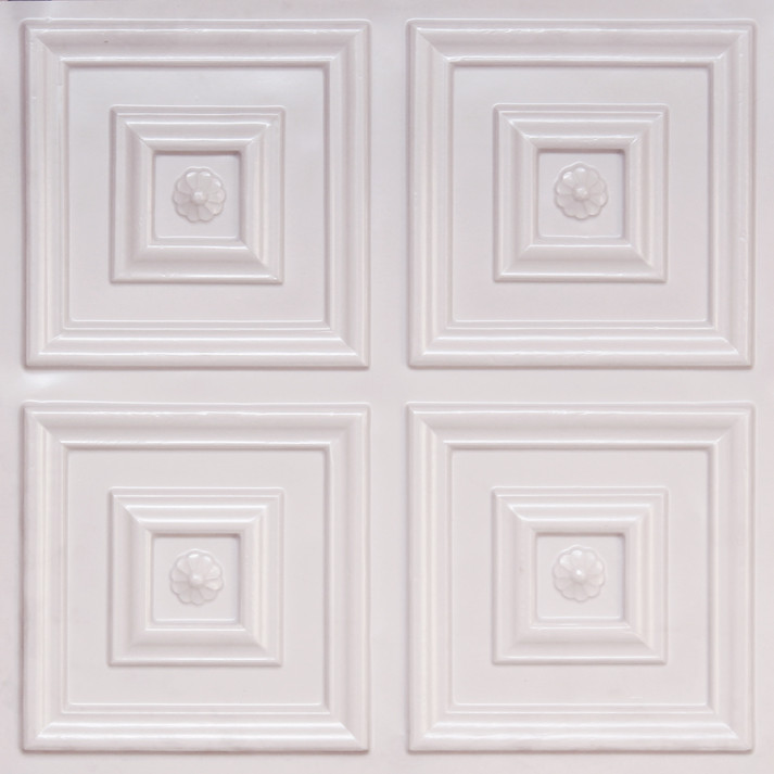 112 white pearl glue up decorative ceiling tile - White Ceiling Tiles