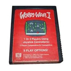 WORM WAR I - Atari 2600 Game