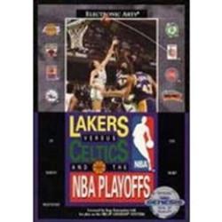Lakers Vs Celtics NBA Playoffs Sega Genesis Game Cartridge | DKOldies.