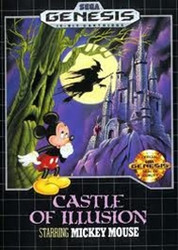 Castle of Illusion Mickey - Genesis Game