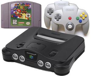 N64 Mario Pak with upgrade