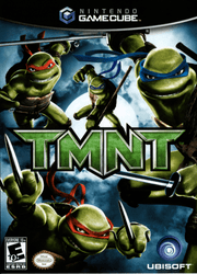 TMNT (Teenage Mutant Ninja Turtles) - GameCube Game