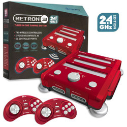New 2.4 GHz Retron 3 System Red
