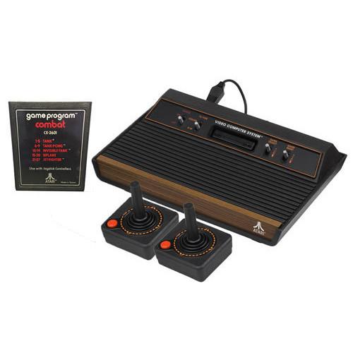 Atari 2600 2 player combat video game system pak dkoldies - Original atari game console ...