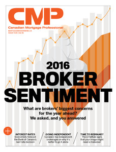 2016 Canadian Mortgage Professional March issue (available for immediate download)