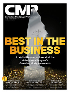 2018 Canadian Mortgage Professional May issue (available for immediate download)