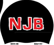 Set of two Silicone Team Cap with Names - North Jersey Barracudas
