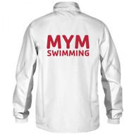 Arena Unisex Warm Up  Jacket- White- MYM