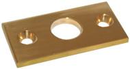 R/Lock Plate Flat Brs 1/2