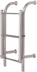 Manta Ladder S/S 4 Rung Bolt-On