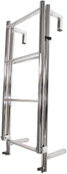 Manta Ladder S/S 6 Rung Toe-Rail