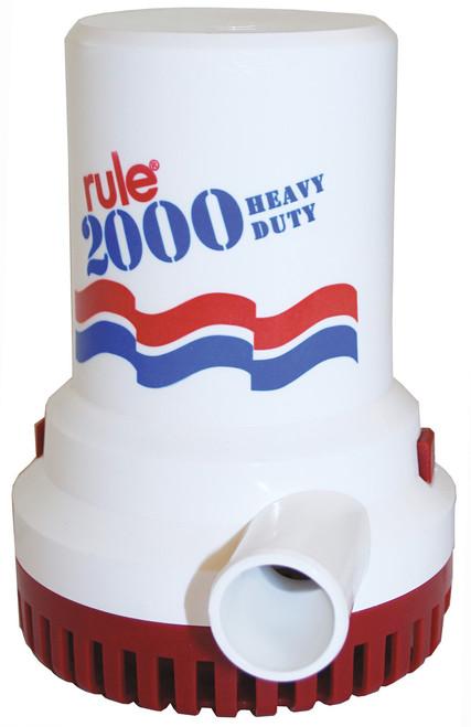 Rule Bilge Pump 2000GPH 12v