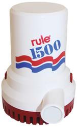 Rule Bilge Pump 1500GPH 12v