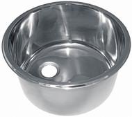 Sink S/S Cylinder 300x180
