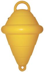 "Hollow 15"""" Mooring Buoy - Yellow"