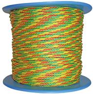 Ski Rope-Fluro Ye/G/P200m