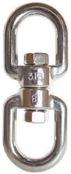 Swivel Eye & Eye S/S 8mm