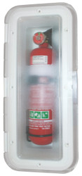 Fire Ext Box 2Kg ClearLid
