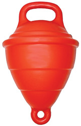 "Filled 10"""" Mooring Buoy - Red"