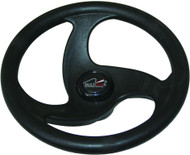 "Multiflex Sports Wheel - ""Sigma"" 3 Spoke - Black"