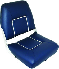 Folding Upholstered Seat - Blue