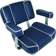 Deluxe Captain's Chair - Blue