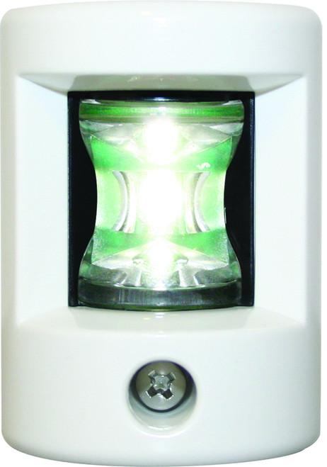 'FOS 12' LEDStern Light - White Vertical mount