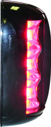 'FOS 20' LED Prt & Stb Light - Black vertical mount