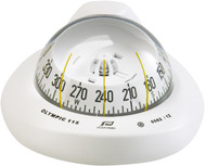 Olympic 115 Sailboat Compass White