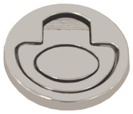 Round Flush Pull Ring - Anti-Rattle