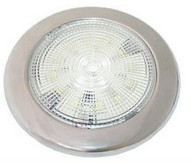 LED Slimline Red/White Light S/S