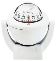 Offshore 75 Powerboat Compass - Bracket, White