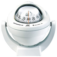 Offshore 95 Powerboat Compass White, Bracket, Conical