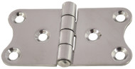 Stamped Hinge 80mm S/S